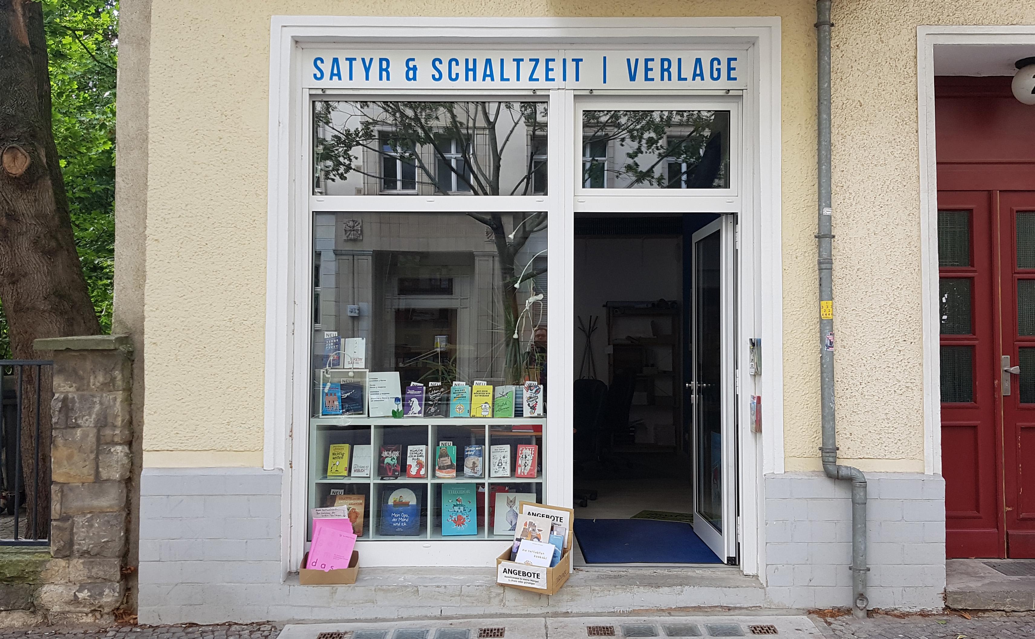 Satyr-Verlagssitz in Berlin-Friedrichshain